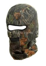 TACTICAL PAINTBALL OUTDOOR BIONIC REAL TREE CAMO BALACLAVA MASK-35201(China (Mainland))