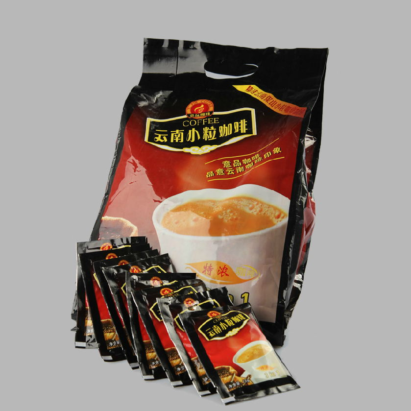 Yunnan small grain of coffee Triad instant coffee 750 g bags sale free shipping