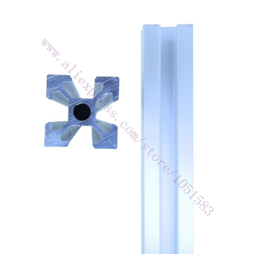 Reprap ADAPTO 3D Printer frame 2020 Aluminum extrusions T-slot Aluminum Pipe 3*420mm+2*340mm+2*300mm<br><br>Aliexpress