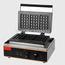 Free Shipping By DHL 1PC FY-115 Electric Waffle Maker Commercial Waffle Baker Plaid Cake Furnace Sconced Machine Heating Machine