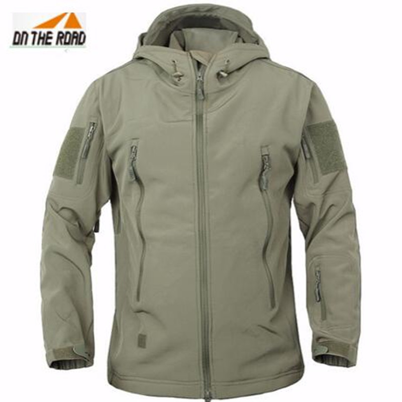 Army Camouflage Coat Military Jacket Waterproof Windbreaker Raincoat Hunting Clothes Army Jacket Men Outdoor Jackets(China (Mainland))