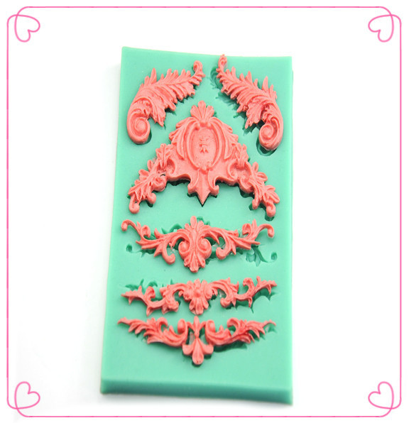 Silicone Cake Decoration Mold