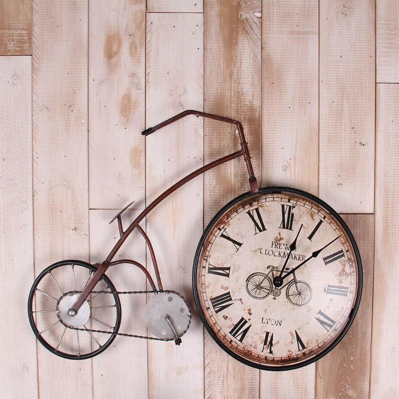 Achetez en gros v lo horloge murale en ligne des for Decoration murale velo