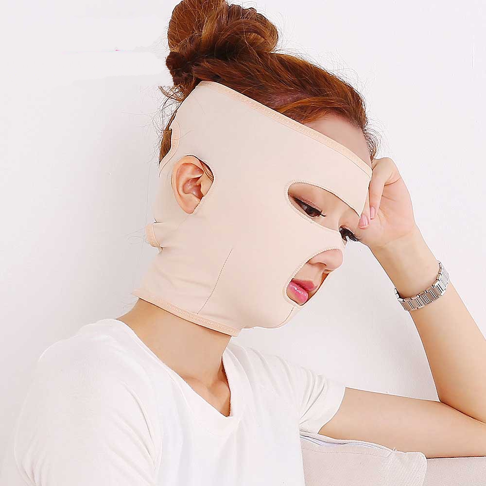 Full Facial Slimming full Face Lift Up Bandage Sleeping Face-Lift Mask Massage Skin Care Shaper Relaxation