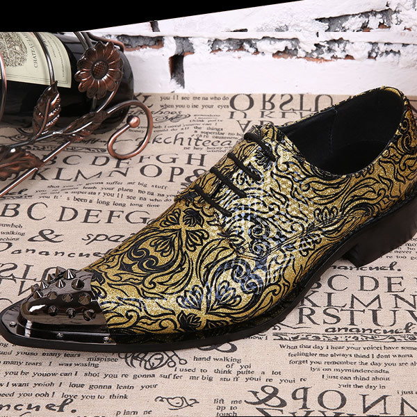 Luxury Brand Style Head Layer Cowhide New Genuine Leather Pointed Iron Head Stylist British Mens Casual Metrosexual Shoes<br><br>Aliexpress