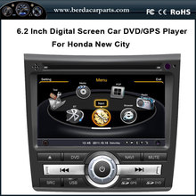 6.2 inch Touchscreen Car DVD For Honda New City 2008-2012 With GPS Navigation Radio Bluetooth Free Map (TV option)