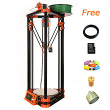 High Accuracy Large Size 3d printer dlp with 8GB SD card LCD 40m Filament for Free