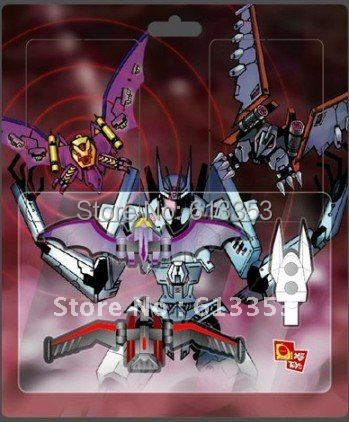 X2toys The Lasebeak & Ratbat upgrade kit forsoundwave (COLORFUL EDITION)