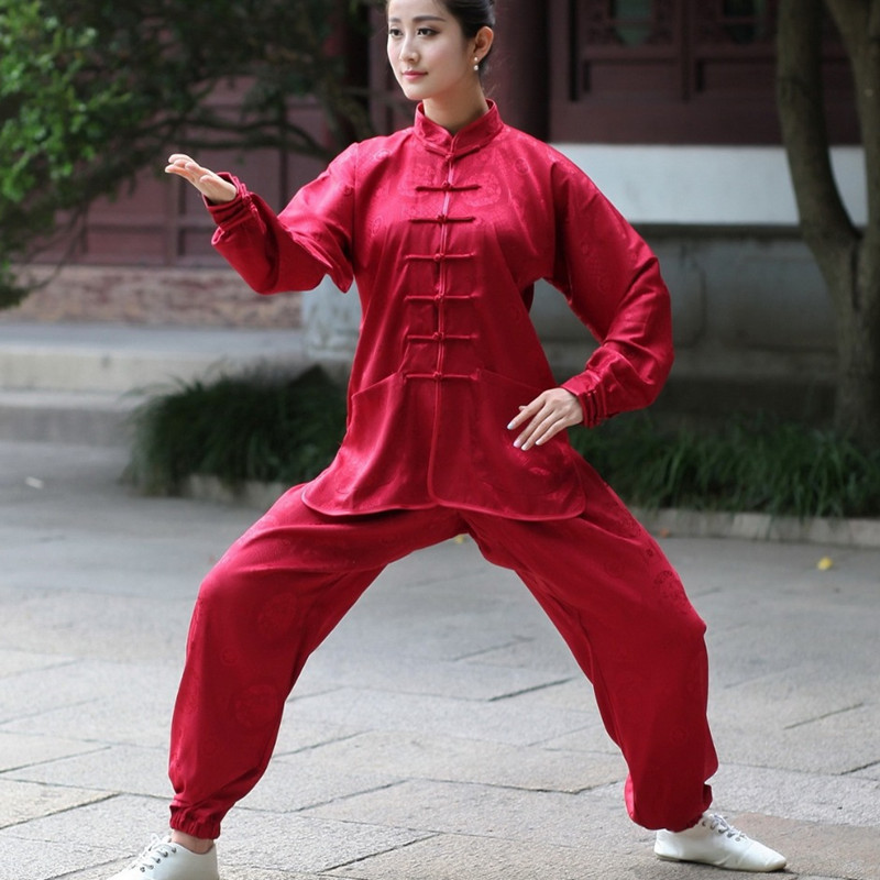 Женские Китайские Спортивные Костюмы