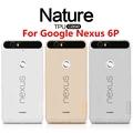 For Google Nexus 6P TPU Soft Case NILLKIN Nature Transparent TPU Case For Google Nexus 6P Luxury With dust plug design