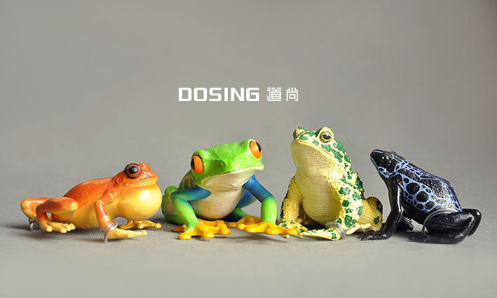 mix frogs figures action animal poison frog toad frogloks doll decoration model pvc toys hobby 4pcs/lot(China (Mainland))