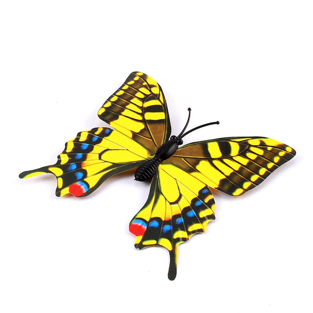 ୧ʕ ʔ୨12pcs/lot Xmas Refrigerator Magnet 【】 Butterflies ...
