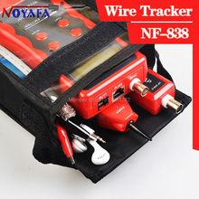 Тестер кабельных сетей трекер тестер телефонной линии BNC сетевого искатель USB RJ11 RJ45 провода Tracer NF838