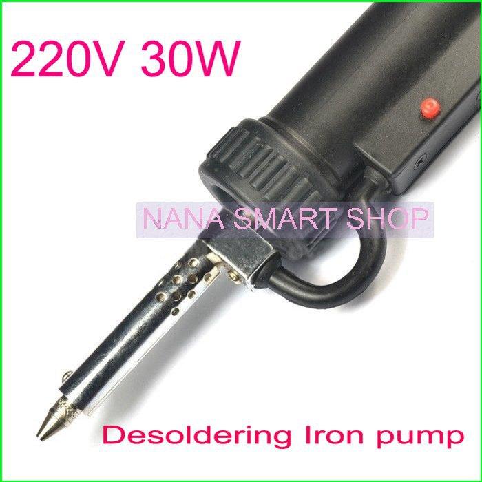 Электрический паяльник 220V 30W remover