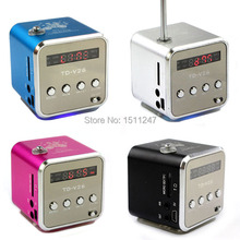 new portable micro SD TF USB speakers internet radio, mobile phone vibration computer music player, multifunction FM radio,