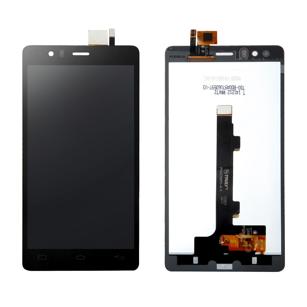 100% tested Original Pantalla LCD+Touch screen Digitizer Assembly for BQ Aquaris E5 FHD IPS5K0760FPC-A1-E black free shipping