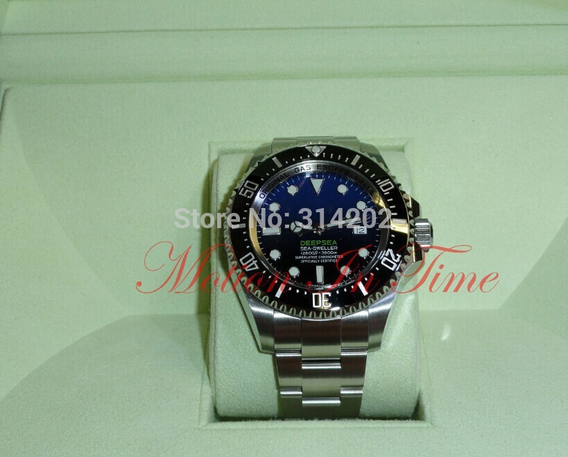 Factory Supplier watch men Deepsea Sea-Dweller D-Blue For James Cameron watches With(China (Mainland))