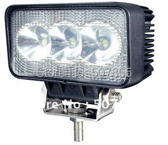Super bright New  Arrival 9-32V 9W tractor off-road 4X4 LED work light working lamp Fog light kit Free shipping