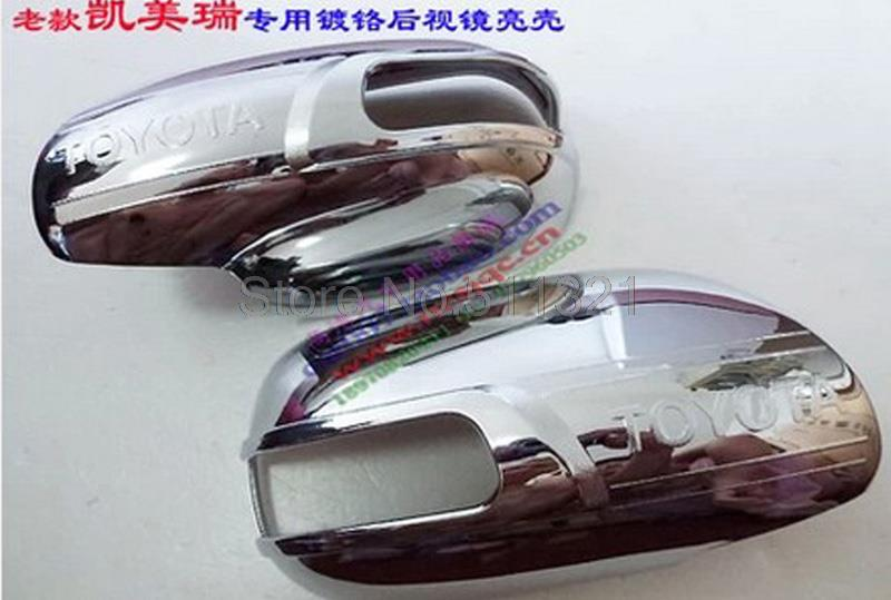 For Toyato camry 2012 2013 High-profile ABS Chrome Rearview Mirror Cover Car Mirrors Covers Trims Styling Auto parts 2pcs(China (Mainland))