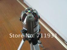 Envío gratis nueva cpap! 5 línea 1 punto autonivelante Cross Line Laser Level METAL COLOR láser autonivelante