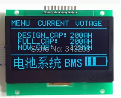1309 controller blue word 2.4 inch oled module 12864 oled oled screen 3.3 v(China (Mainland))