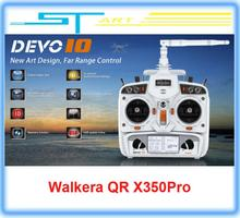 5pcs/lot Original Walkera DEVO 10ch Transmitter 2.4Ghz Radio System RX1002 Receiver for WALKERA Drone QR X350 Pro FPV