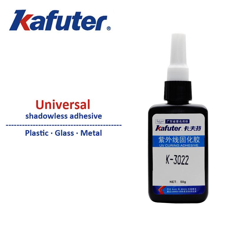 NEW 50ml kafuter K-3022 uv glue Acrylic glue Plexiglass PVC glue Groups of plastic free shipping(China (Mainland))
