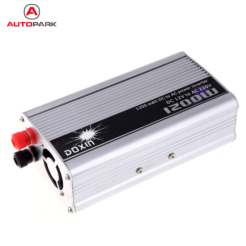 Professional 1200W WATT DC 12V to AC 220V Portable Car Power Inverter Charger Converter Transformer Car Styling Accessories(China (Mainland))