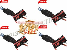 4X Original Emax 12A Speed Controller ESC with SimonK Firmware + 12 pairs Connectors For FPV QAV250 Multirotor Quadcopter