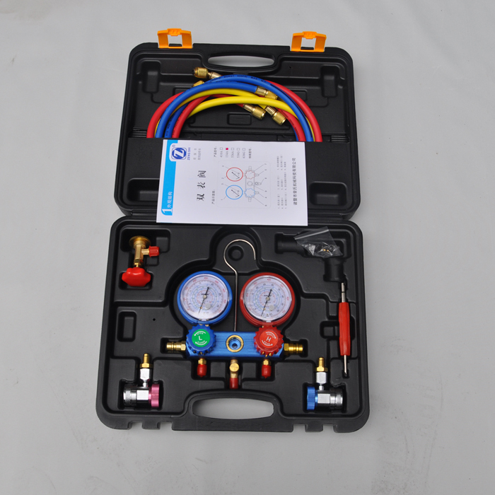 AC Refrigerant Pressure tester Refrigerant Fluoridate Table Refrigerant Filling Diagnostic Tools(China (Mainland))