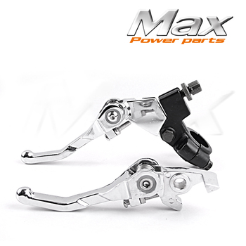 Aluminum Folding Clutch lever Brake Lever Fit CRF KLX Apollo Xmotos Kayo Pit Dirt Bike Parts