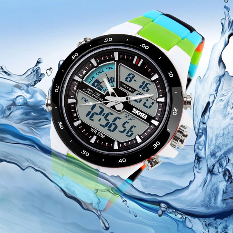 New 2017 Brand SKMEI Watches Men Sports Relojes Male Clock Dive Swim Fashion Digital Watch Military Multifunctional Wristwatches(China (Mainland))