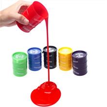 Barrel o slime trucco pittura a olio trucco di burla del bavaglio di scherzo regalo toy pazzo non thinking putty giocattolo della novità(China (Mainland))