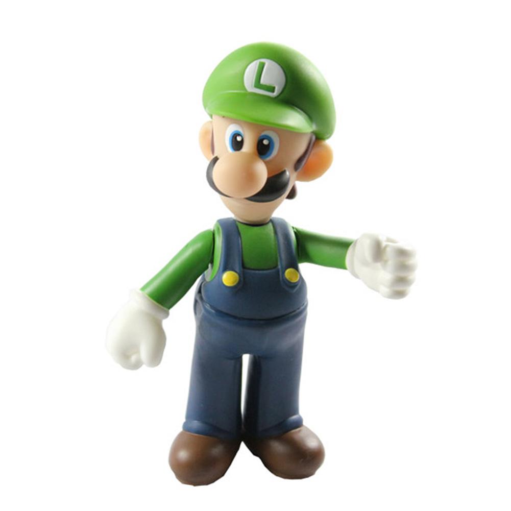 Super Mario Nintendo NES LUIGI Toy Bros Action Figures  BS88<br><br>Aliexpress