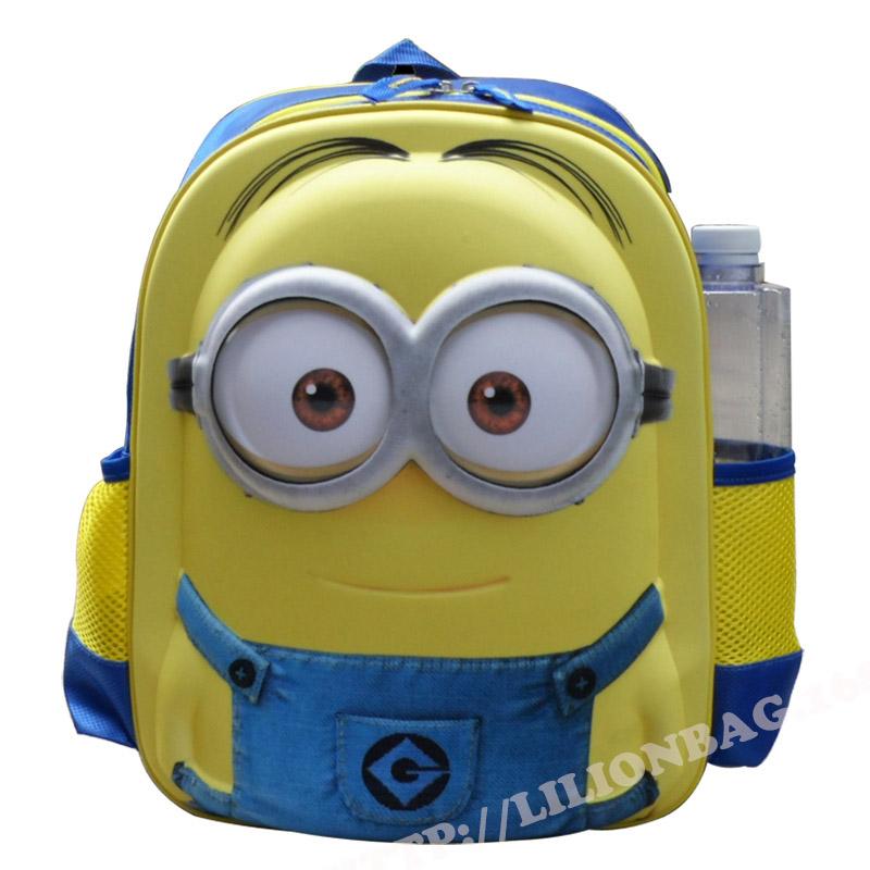 Mochila Amigurumi Minion : minion backpack mochila masculina mochilas escolares ...