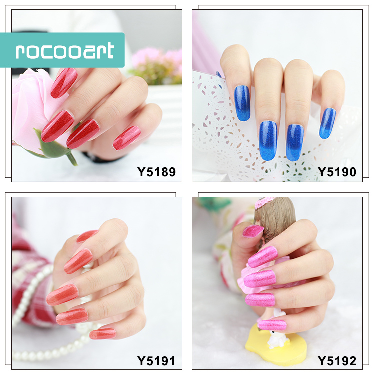 11 Different Colors Self-Adhesive Nail Art Stickers Decor Full Nail Foil Wraps Decal Fingernails Sticker Pure Pink Purple Blue(China (Mainland))