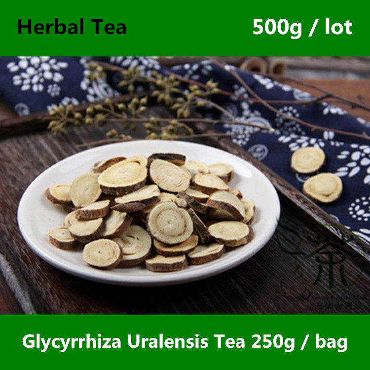 Very Popular Glycyrrhiza Uralensis Tea 500g, Featured Health Care Licorice Roots, Authentic Natural Radix Glycyrrhizae Herbs Tea cheap