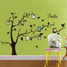 Buy Black 3D DIY Photo Tree PVC Wall Decals/Adhesive Family Wall Stickers Mural Art Home Decor for $7.59 in AliExpress store