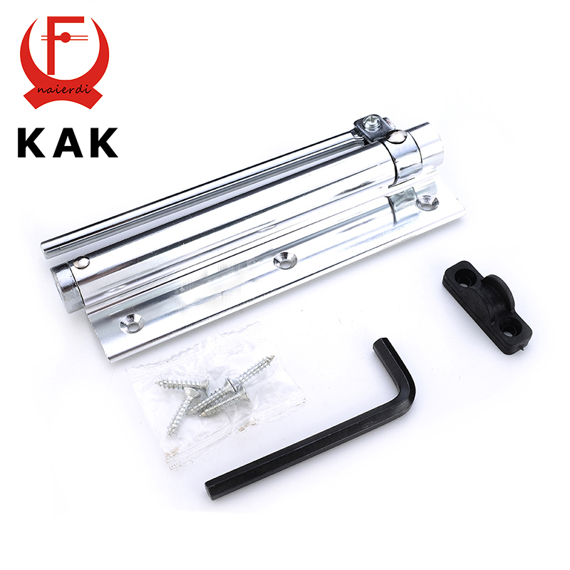 KAK Adjustable 45KG Aluminum Door Closer Light Door Closer Household With Automatic Spring Fire Rated Door Hinges For Hardware(China (Mainland))