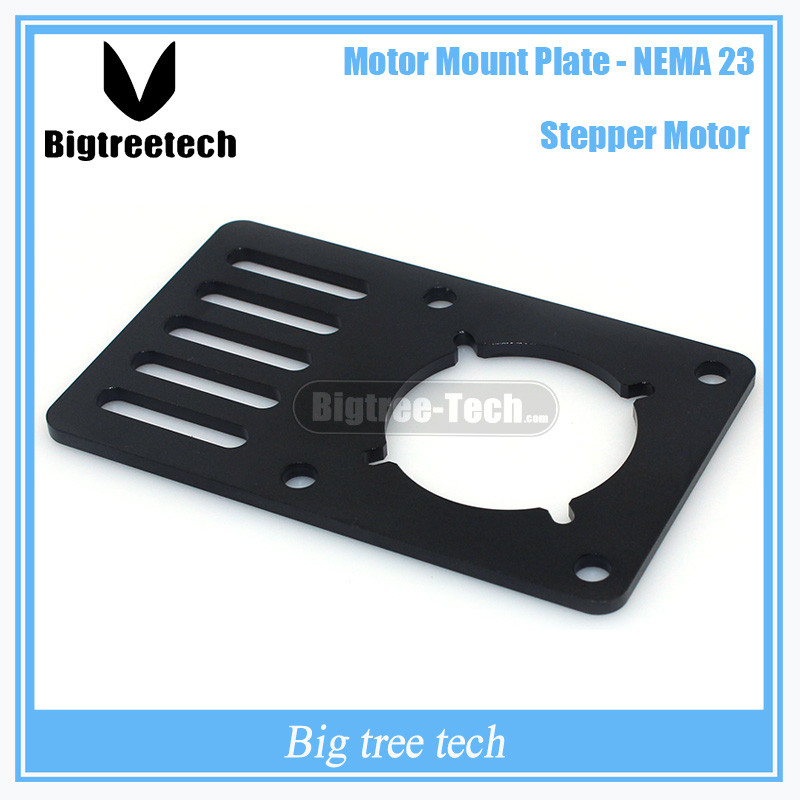 3d printer part motor mount plate for nema23 for for Motor vehicle inspection flemington nj