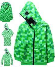 Creeper  big boy hoodie jacket coat boys hoodies children sweater Planet Creeper Premium Boys Zip-Up Hoodies Games Items Coat  (China (Mainland))