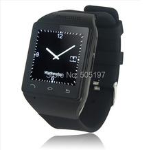 Gsm мобильный телефон наручные часы fm радио шагомер bluetooth smartwatch