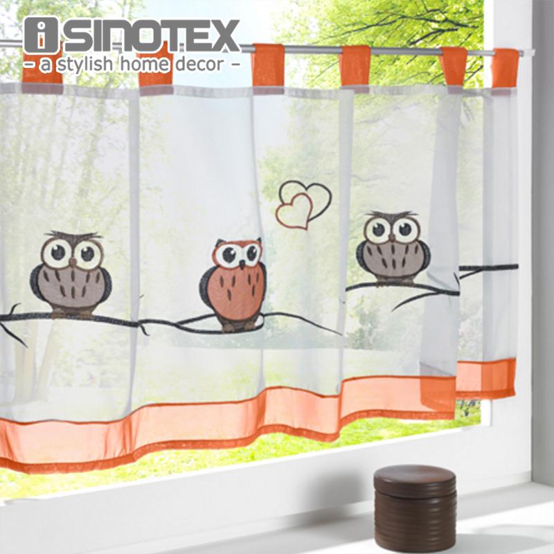 achetez en gros hibou rideaux en ligne des grossistes hibou rideaux chinois. Black Bedroom Furniture Sets. Home Design Ideas