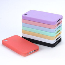 Phone Cases TPU Silicone Sherbet Back Soft Housing Cover Case For iPhone 4 4G 4S Mobile Phone Case(China (Mainland))