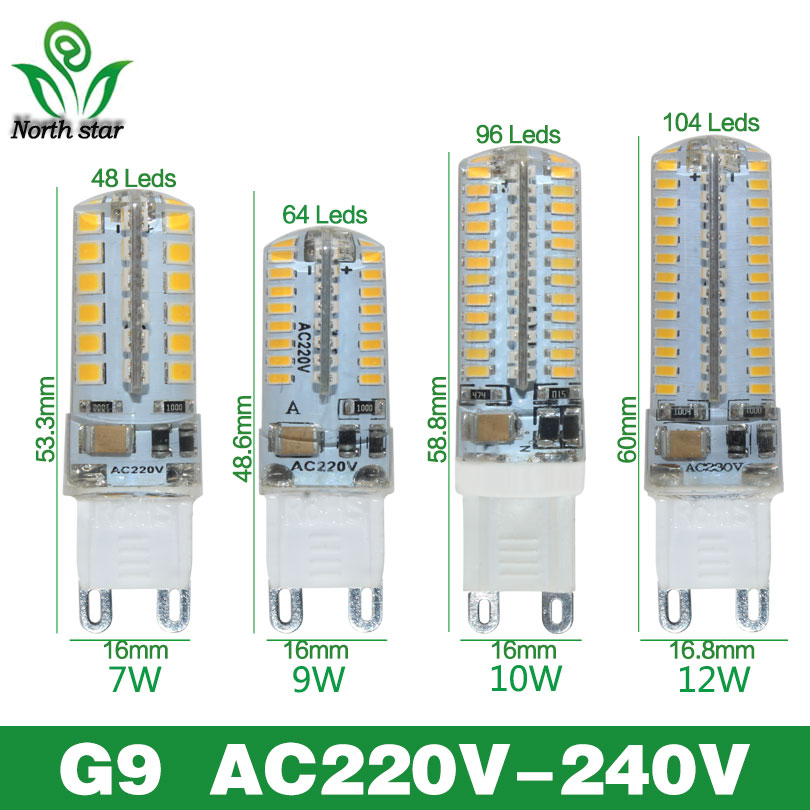 Lowest price LED Bulb SMD 2835 3014 LED G4 G9 LED lamp 3W 7W 9W 10W 12W led Light DC12V AC220V 360 Degree Replace Halogen Lamp(China (Mainland))