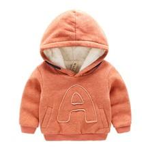 BibiCola Детские вскользь Толстовки и Кофты дети верхняя одежда младенца мальчики девочки зимой теплый Куртки дети плюс бархат пальто свитер(China (Mainland))