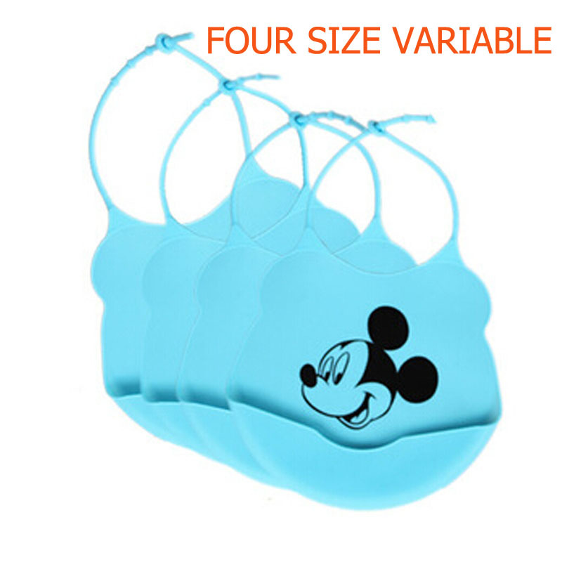 Дизайн детские нагрудники водонепроницаемый силикон кормление младенцы слюны полотенце новорожденный комикс водонепроницаемый фартуки детские нагрудники
