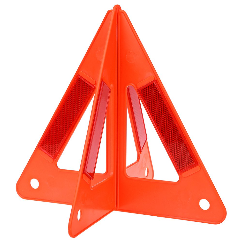 Auto Car Safety Emergency Reflective Warning Triangle Portable to Carry Raise Red Warning Sign Prevent Rear-end Collision(China (Mainland))