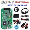 HW V4 036 KESS V2 V2 32 OBD2 Manager Tuning Kit Master Version KESS V2 No