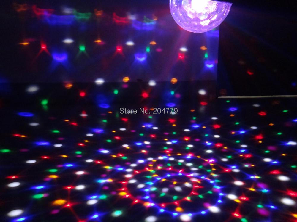 18W LED magic ball DMX lighting 6-colors crystal light - estore-lighting store